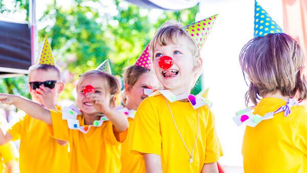 Przedszkole Baby City piknik rodzinny zabawa