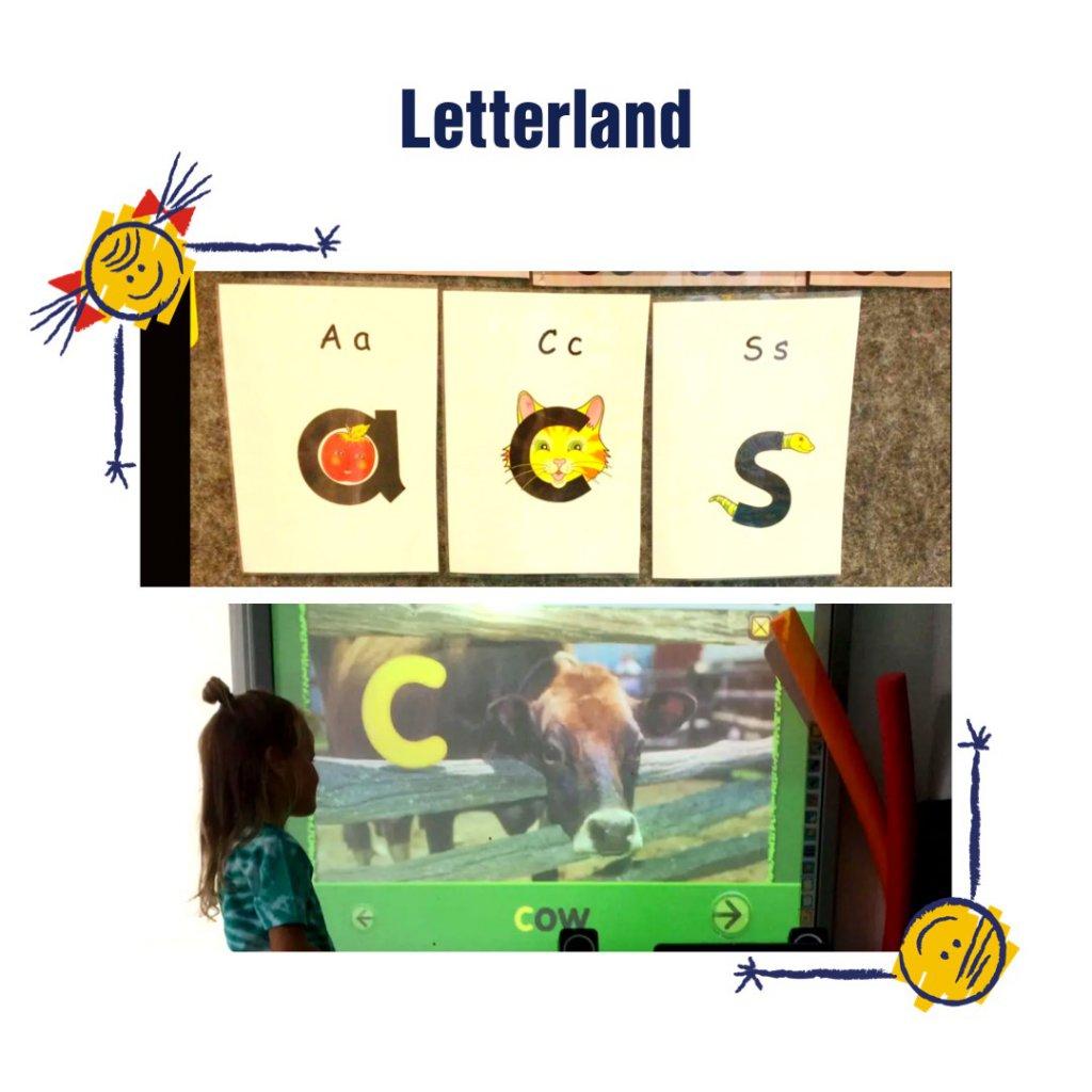 Letterland w przedszkolu